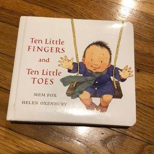 3/$12 Ten Little Fingers & Ten Little Toes Book